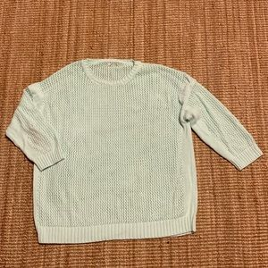 J.Crew Factory pointelle sweater